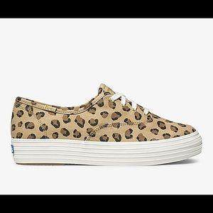 Keds Women's Triple Leopard Platform Sneakers 🖤🤎